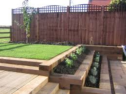 Small Picture Garden Design Ideas Railway Sleepers Images and photos objects