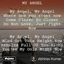 Angel Meaning In Hindi Shayari Status Quotes Stories Nojoto