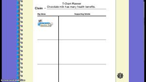 planning an argumentative essay