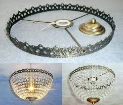 chandelier lamp shade frames adhesive mini chandelier