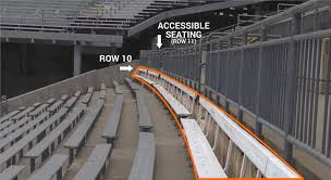 Ohio Stadium Seating Chart With Row Numbers Ohio State Football Ohio Stadium Seating Chart