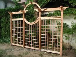 Small Picture Download Trellis Fencing Ideas Solidaria Garden