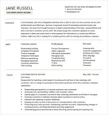 8 Customer Service Resume Templates – Free Samples , Examples ...