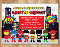 superheroes birthday party invitations super hero birthday party invitation superhero pop art bday