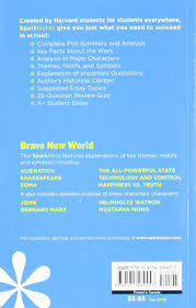 com brave new world sparknotes literature guide com brave new world sparknotes literature guide sparknotes literature guide series 9781411469457 sparknotes aldous huxley books