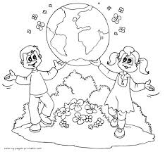 Free earth day coloring pages. Free Earth Day Coloring Pages Coloring Pages Printable Com