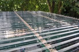 corrugated roof plastic