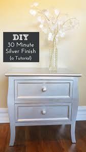 diy painting furniture ideas. diy silver spray paint furniture finish diy painting ideas r
