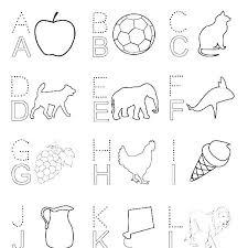 Color Pages For Preschoolers Alphabet Coloring Pages Preschool