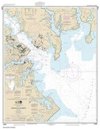 12283 Annapolis Harbor Nautical Chart