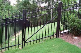 diy aluminum fence installation 45 best aluminum fence designs images on
