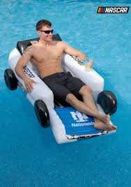 nascar dale earnhardt jr car pool float lounger