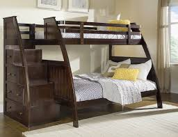 the canwood overland twin over full bunkbed with built in stair storage has everything bunk beds