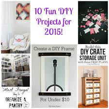 Fun Diy Projects 10 Fun Diy Ideas For 2015 Monday Funday Link Party Club Chica