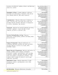 Work Improvement Plan Template Luxury Performance Review