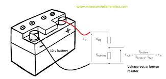 Battery Voltage Meter Wiring Diagram For 7805 Voltage Regulator Wiring