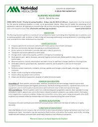 sample nursing assistant resume objective cipanewsletter nursing assistant resume objective sample example cna skills list