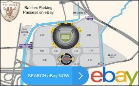 Oakland Coliseum Seating Chart Raiders Oakland Raiders Parking Passes Information