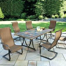 high top patio table sets inch round furniture outdoor dining tables and chairs