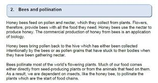 biology hyndland national assignment honey bees  hb1 hb2