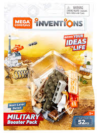 amazon mega construx inventions military building set booster toys games