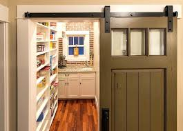 barn style doors turn that old door into a sliding barn style door for the pantry
