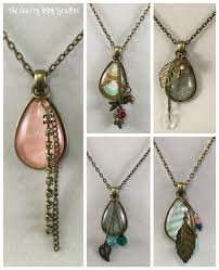 astounding how to make necklaces a jewelry pendant necklace the crafty blog stalker