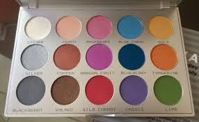 kryolan 9115 sun viva brilliant color palette 15 colors eye face body makeup