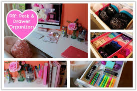 Diy Desk Organizer Simple Diy Desk Drawer Organizer And The Inside Ideas