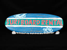 vine style surfboard al clic surfing sign roxy surf art tropical tiki decoration hawaiian gifts with aloha