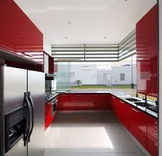 kitchen designs red kitchen furniture modern kitchen. Modern Casa Graffiti Open Kitchen Simple Stove Red Decor Designs Furniture A