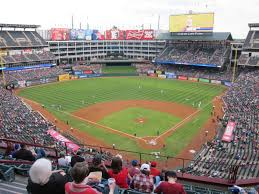 Ballpark At Arlington Seating Chart Texas Rangers Globe Life Park Seating Chart Interactive