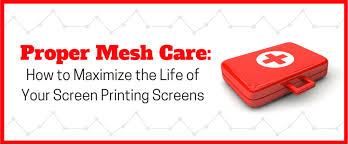 Proper <b>Mesh</b> Care: How to Maximize the Life of Your Screen <b>Printing</b> ...