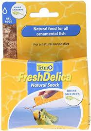 <b>Tetra</b> Fish Food <b>Fresh Delica Brine Shrimp</b> 48g, Gel Food Treats for ...