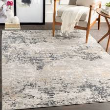 Modern Light Grey Rug The Gray Barn Singing Prairie Light Grey And Tan Modern Area