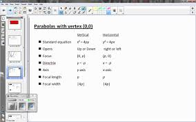 8 1 finding focus directrix and focal width