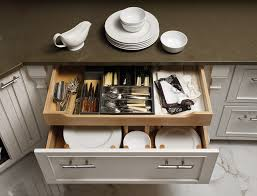 Kitchen Cabinet Drawer Fronts Clever Storage Behind A Deep Drawer Front Is Tucked A 4 Pull