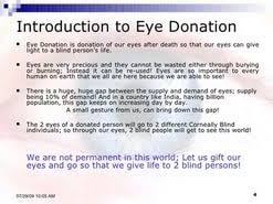 essay on eye donation is the best donation in hindi  essay on eye donation is the best donation in hindi