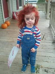 if you have denim overalls to pair makeup with should definitely go for a chucky image