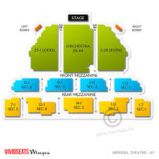Imperial Theater Nyc Seating Chart Imperial Theatre Ny Concert Tickets And Seating View
