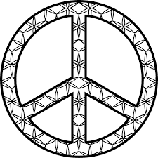 Small Picture Printable peace sign coloring pages ColoringStar