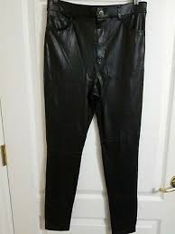 forever 21 women s black faux leather skinny pants starting at 16 similar products also available now on