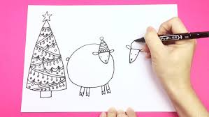 Easy Cute Drawing By Using Observation And Simple Shapes