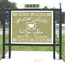 wrought iron picture frames art scroll brackets posts for signs