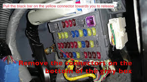 2007 honda cr v multiplexer replacement youtube  at 04 Crv Under Dash Fuse Box Sale