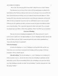 Apa 6 Sample Paper Free Printable Apa Style Template 4835