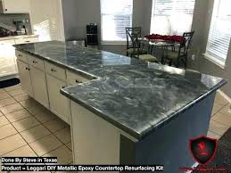 metallic countertop resurfacing metallic countertop kit home depot
