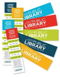 Knox County Public Library Bookmarks Designer Kayti Tilson