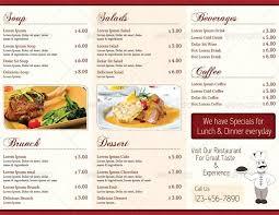 Free Indian Restaurant Menu Templates For Word Meetwithlisa Info