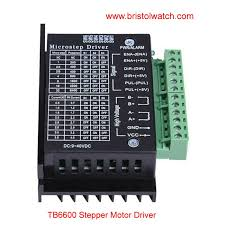 tb6600 stepper motor driver with arduino